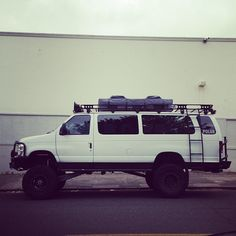 Lifted F350 van...