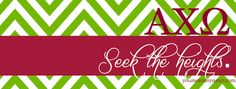Seek The Heights - Alpha Chi Omega