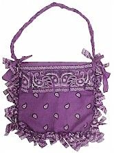 No-sew bandana purse... cute craft for girls @Pascale Lemay De Groof