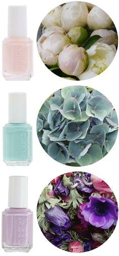 spring nail colors.