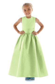 Dessy Fl4025 Flower Girl Dress | Weddington Way $154 flower girl dresses, flower girls, abbi dress