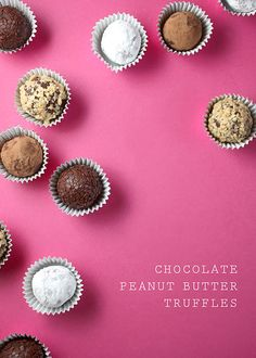 Chocolate Peanut Butter Truffles