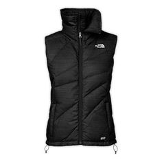 The North Face Women's Jackets & Vests Vests WOMEN'S BELLA LUNA DOWN VEST  Black Medium