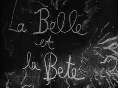 Beauty and the Beast (1946) - dir. Jean Cocteau
