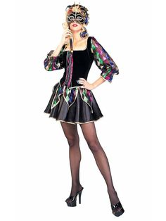 Mardi Gras Sexy Jester Adult Costume | Wholesale Mardi Gras Costumes for Adults