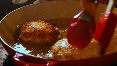KOL Latke stuffed with turkey and cranberry sauce #thanksgivukkah #thanksgiving #hannukah