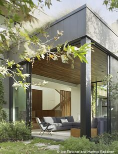 stone residence outdoor transition