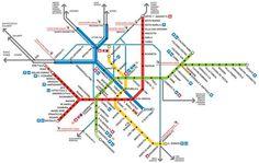 Milan Subway map