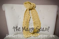 Ravelry: The Mary Scarf pattern by Mrs Emmons
