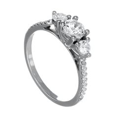 Spence Diamonds: Diamond Engagement Rings Made to  Order Style #7659