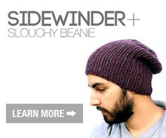 The Slouchy Beanie of Misdirection Crochet-A-Long NewStitchaDay.com