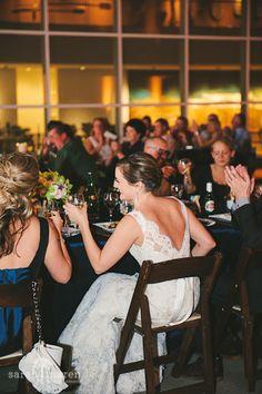 Crocker Art Museum Wedding Photos -  toasts  - Sarah Maren Photographers
