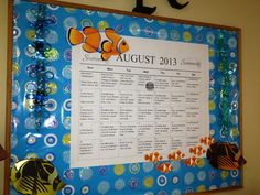 August board - Found most items @ Clearance 'swim' and summer section of Wal-Mart.