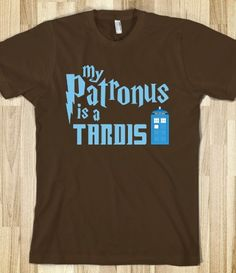 My Patronus is a TARDIS. getting it  living social has a deal right now for half price to skreened. http://t.livingsocial.com/deals/288690?ref=email-jp&rpi=51786768