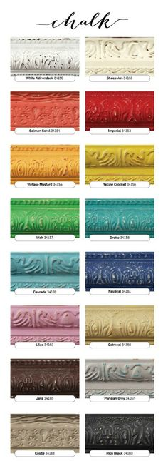 Incredible Color Selection - FolkArt Chalk Paint (affordable)