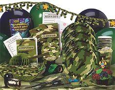 Army Birthday Theme Party