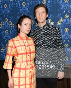 Zoe Lister-Jones, Daryl Wein at SUNO SS15 After Party. #BFAnyc