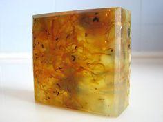 SOAP- Honeysuckle Calendula Soap- Handmade Soap - Vegan Soap - Glycerin Soap- Soap Gift via Etsy