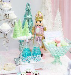 sugar plum, nutcracker birthday party, nutcracker ballet birthday, nutcrack parti, birthday parties, color pallets, nutcrack birthday, parti idea, plum fairi