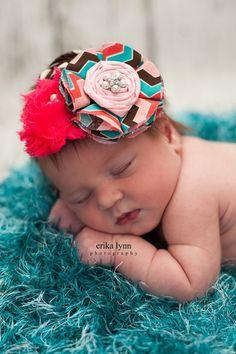 Baby Girl Headbands Baby Headbands Newborn by LuLuLimeBoutique, $13.00