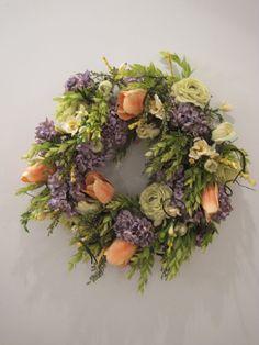 Spring Wreath by ellieboodesigns on Etsy, $80.00