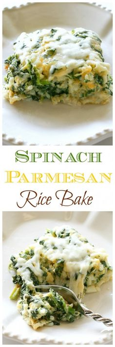 Spinach Parmesan Ric