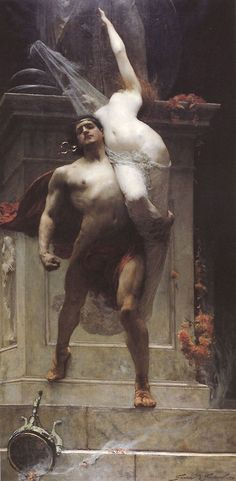 "Solomon Joseph Solomon - ""Ajax and Cassandra"", 1886."