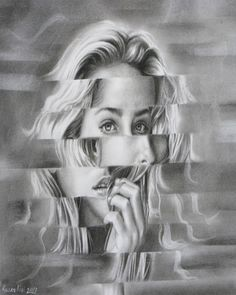 "Saatchi Online Artist: Mehdi Adilipour; Pencil Drawing ""Confuse"""