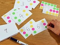 Number Cards - Educational Arts and Crafts For Kids - Free Craft Ideas
