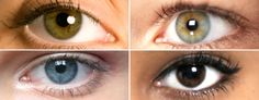 Makeup advice for every eye color