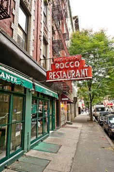 Rocco Restaurant in NYC--LOVE IT!