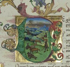 Pal. lat. 1632  Vergilius Maro, Publius  Sammelhandschrift  Deutschland, 15. Jh.  Persistent URL: http://digi.vatlib.it/view/bav_pal_lat_1632