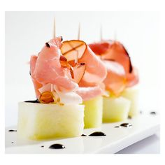 jamon ibérico con melon