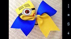 Despicable Me minion bow