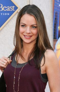 Kimberly Williams-Paisleys chic, updo hairstyle