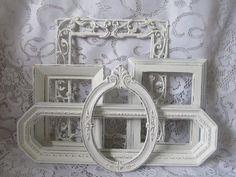 Five Ornate Shabby Chic Frames by DebosHomeDecor on Etsy, $48.95