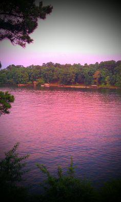 Lake Hamilton, Hot Springs, Arkansas