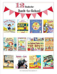 12 Back to School picture books to ease into the new year.