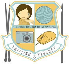 4th Annual Knit and Crochet Blog week (April 22-28, 2013) announcement on Eskimimi Makes