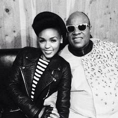 Janelle Monae & Stevie Wonder