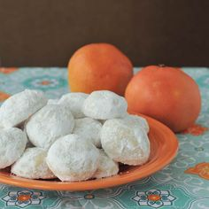 Grapefruit Meltaway Cookies—a sweet way to get your Vitamin C and fight off a winter cold or flu.