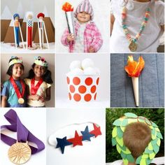 Go for the Gold: 18 of my favourite Winter Olympics Crafts for the kiddos | MollyMoo for @Spoonful