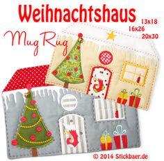 Weihnachtshaus Mug R
