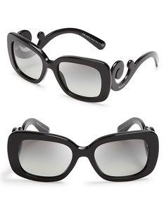 Prada Square Baroque Sunglasses