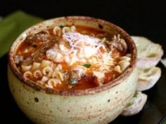 Slow Cooker Ground Beef Lasagna Soup