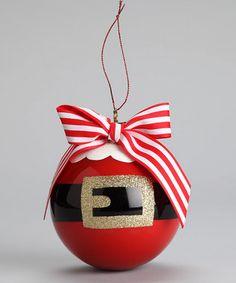 Santa Suit Ornament