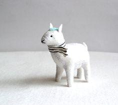 Frosty mint goat