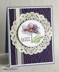 LW Designs: Purple Peaceful Petals