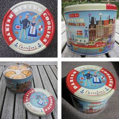 Tom Schamp - Carrefour's Dansk Butterkeks Box