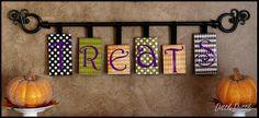 shoebox lids,scrapbook paper and ribbon